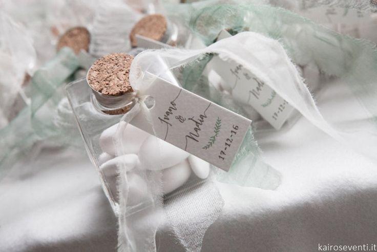 """L'eleganza delle bomboniere   Wedding designer & planner Monia Re -www.moniare.com   Organizzazione e pianificazione Kairòs Eventi -www.kairoseventi.it   Foto """"SpringRainStudio di Roberto Ricci"""""""