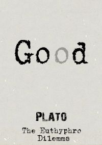 #Plato's #Euthyphro #Dilemma asks if something is good because #God wills it, or does God only will that which is good? Both options raise potential problems for the #theist.