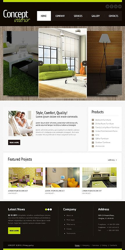52 Best Images About Interior Furniture Website Templates On Pinterest Interior Design