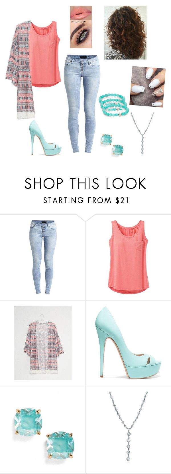 """""""Feeling Pretty"""" by rainleigh911 on Polyvore featuring Object Collectors Item, prAna, Casadei, Kate Spade, Tiffany & Co. and Anzie"""