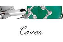 #Bibigi   Collezione #Cover   Gioielli in oro bianco, oro rosa, diamanti e pietre dure.