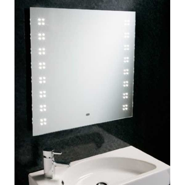 Heated Bathroom Mirrors With Lights: Lighting Over Mirror Images On