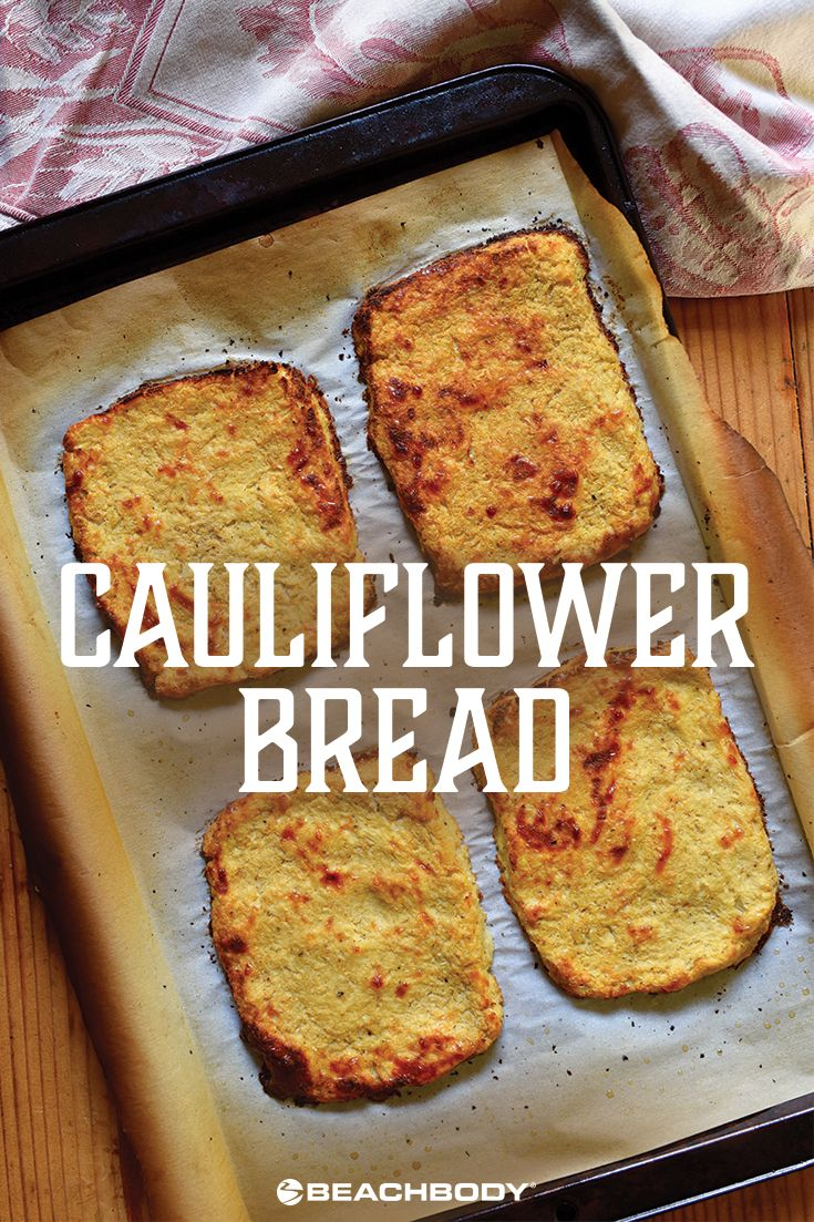 Cauliflower Bread Recipe Cauliflower Bread Food Recipes Low