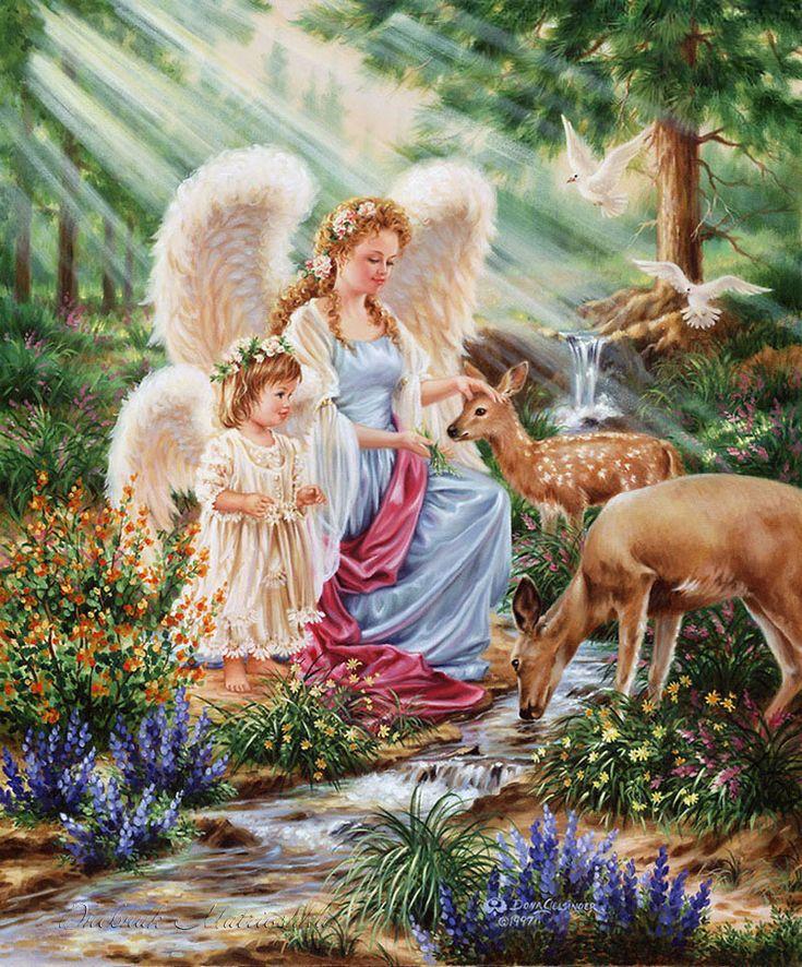 Ангелы помогают картинки