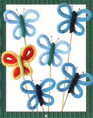Pintando Ideas: Tricotín 1 (Knitting Nancy)