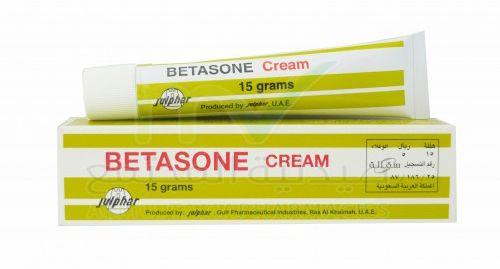 بيتازون كريم لعلاج الالتهابات والحكة الجلدية Betasone Cream Pharmacy Cream Personal Care