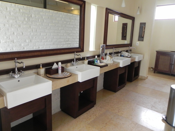 Fully Stocked #vanities For Commercial Bathroom