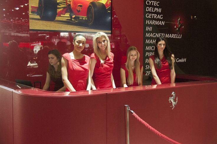 The Ferrari girls