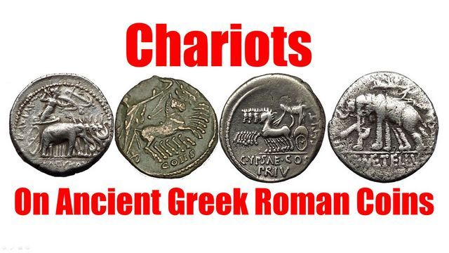 CHARIOTS as shown on Authentic Ancient Greek & Roman Coins for Sale on eBay http://ift.tt/1RInsJJ