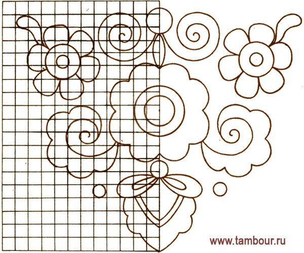 Схемы вышивки татарского орнамента
