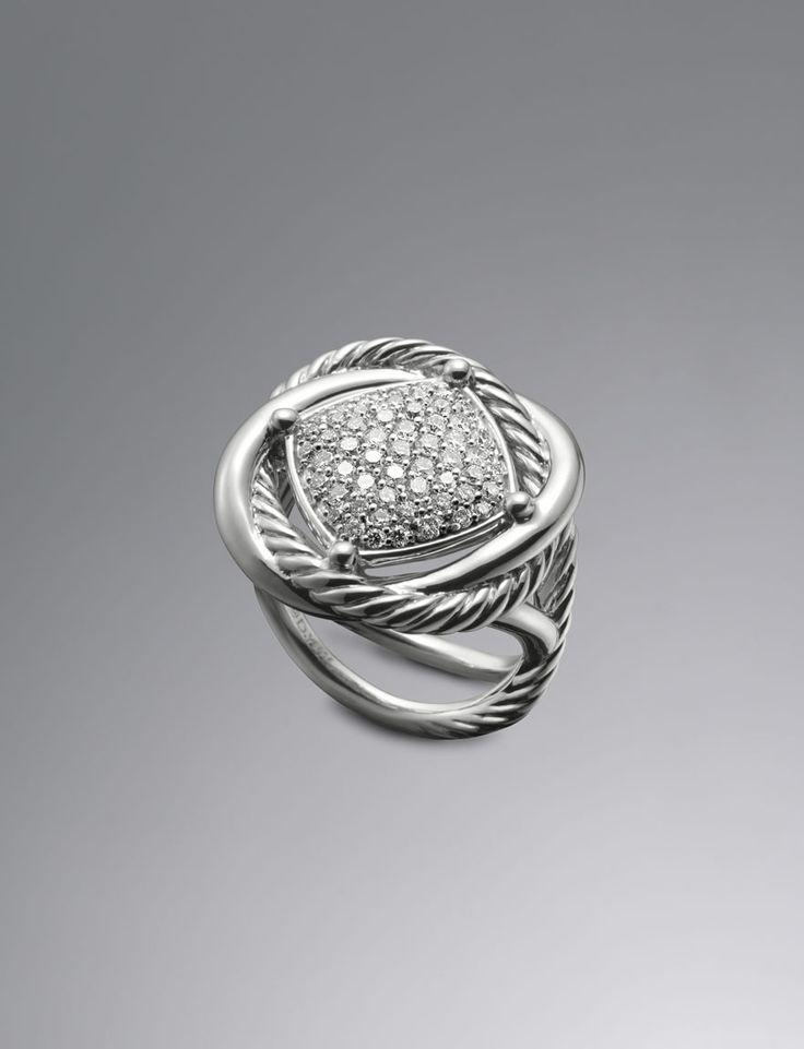 pave diamond infinity ring by david yurman at neiman marcus