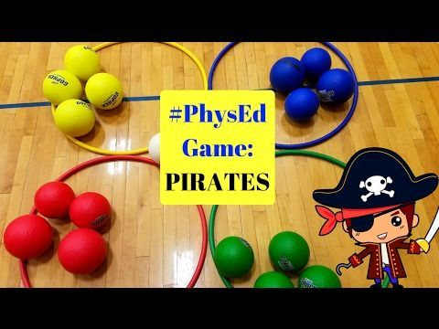 PE Catching and Throwing game - Catch Everything - YouTube