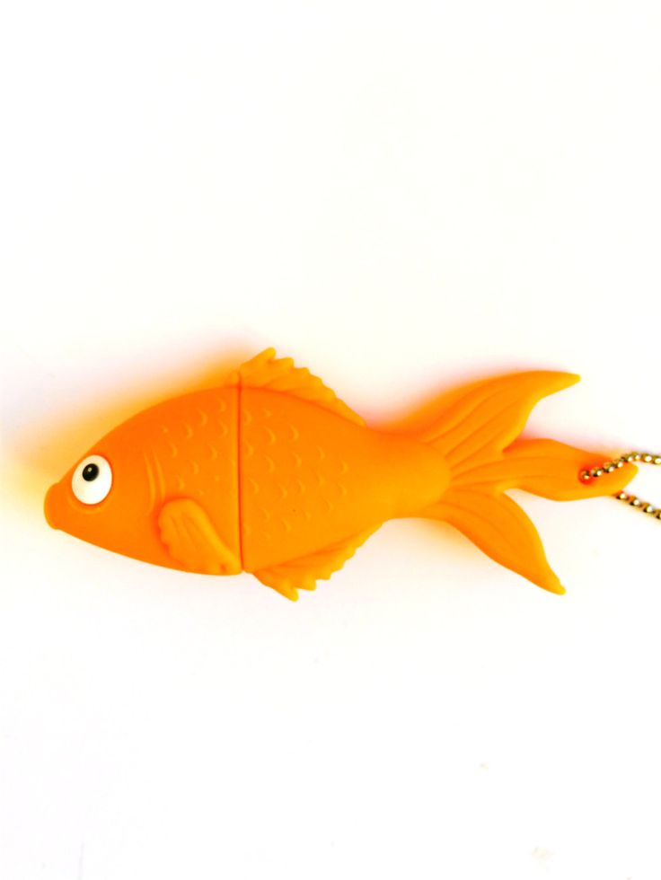 Goldfish USB Flash Drive 8GB by LittleDutchShop on Etsy https://www.etsy.com/listing/250411164/goldfish-usb-flash-drive-8gb