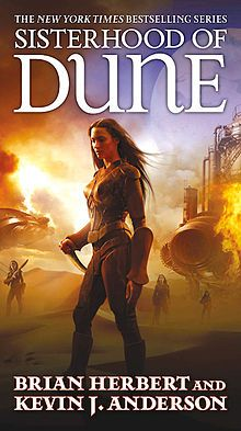 Sisterhood of Dune   First edition cover It is the first book in their planned Great Schools of Dune prequel trilogy, which itself is a sequel to their Legends of Dune trilogy. The book is set eighty years after the events of 2004's Dune: The Battle of Corrin, in which the human military finally defeat the thinking machine armies of Omnius.