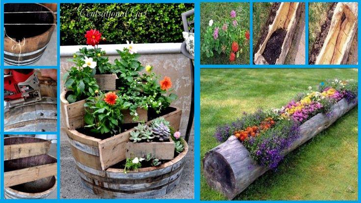 19+ kreativních nápadů pro sázení květin, díky kterým budou vaše květiny šťastné!