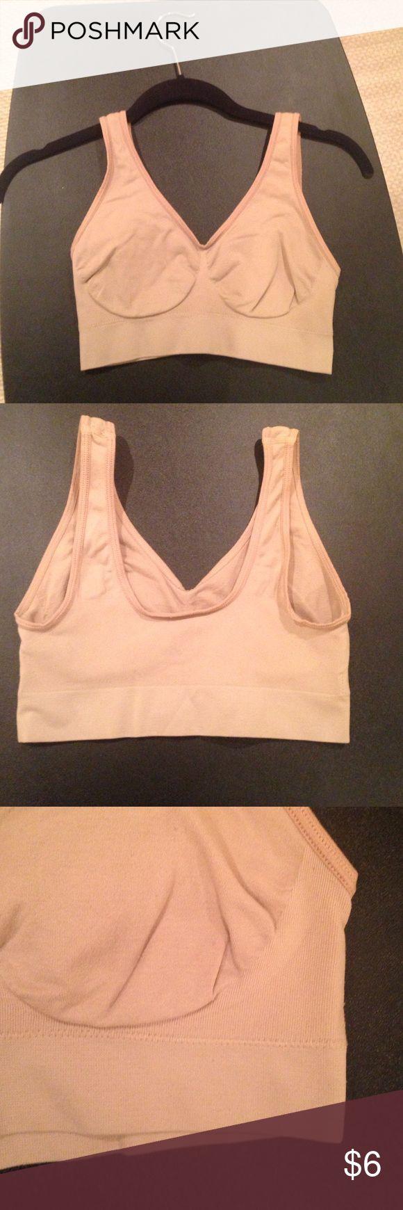 Nude Sports Bra SizeM Nude sports bra worn with ❤️ Intimates & Sleepwear Bras