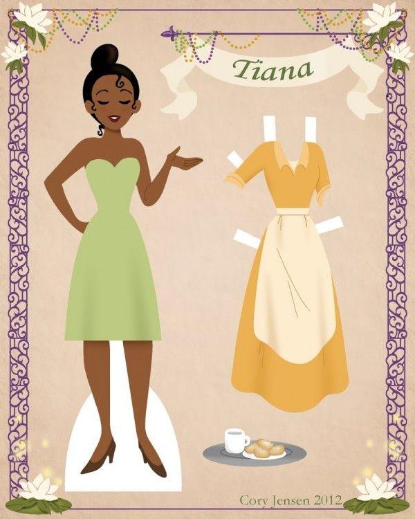 751 Best Paper Doll: Disney Images On Pinterest