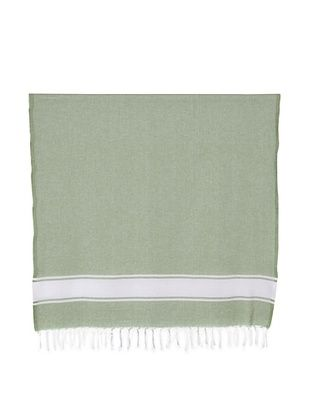 52% OFF Nine Space Ayrika Collection Classic Fouta Towel (Green)