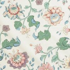 Peach Asian Drapery and Upholstery Fabric by Lee Jofa