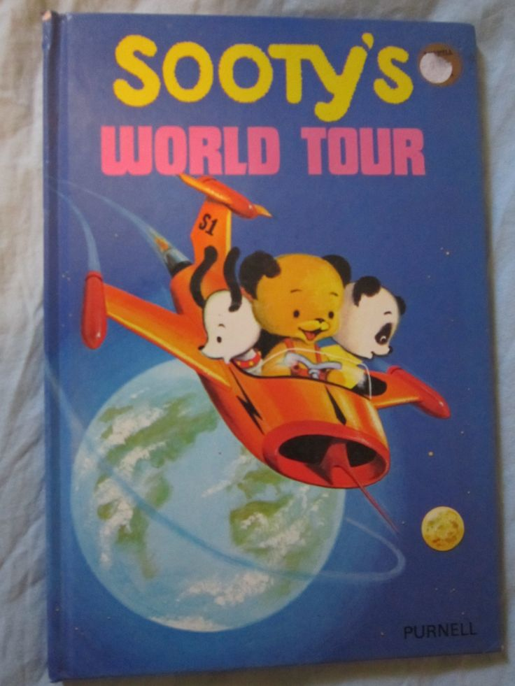 Sooty's world tour book