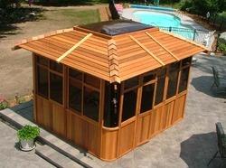 Hot-tub-shelter-spa-enclosure, Hot-tub-shelter, Supreme-spa-enclosure, Gable-roof-style-spa-enclosure Manufacturer & Supplier From Canada
