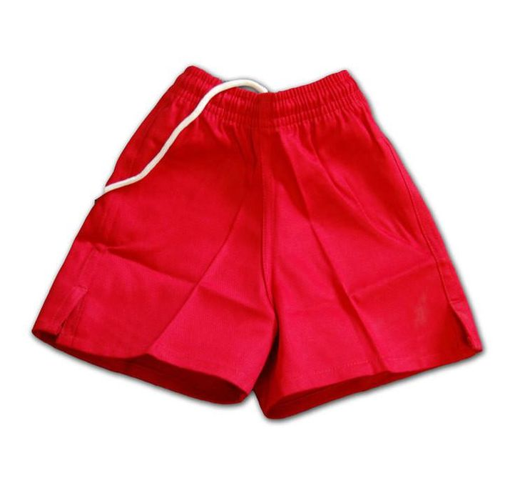 Youth Red Rugby Shorts