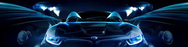 """BMW & HARMAN KARDON"" Audio Experience by LostProject, via Behance"