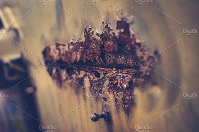 Rust on metal by Histeryk Photo on @creativemarket