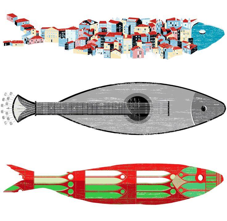 Design: Concursos para as sardinhas de Lisboa e para a Miguel Bombarda no Porto | Meios & Publicidade