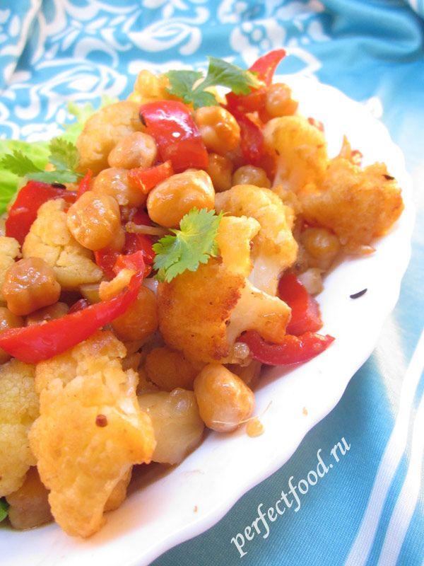 Рецепт приготовления цветной капусты с фото