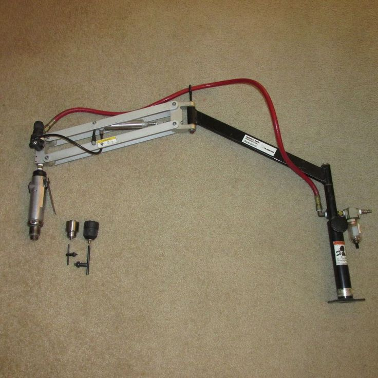 Ingersoll Rand IR Workstation Precision Pneumatic Tapping Drilling Arm air drill #IngersollRand