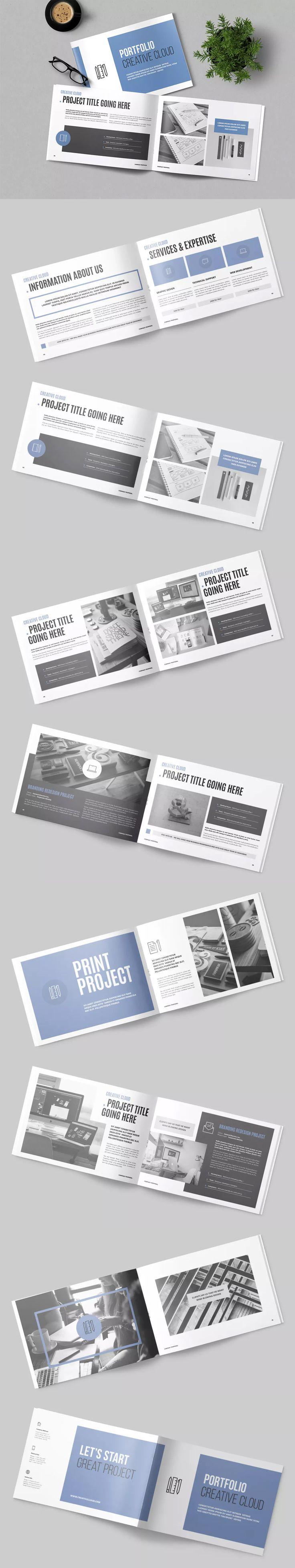 16 best Portfolio Brochure / Book Templates images on Pinterest ...
