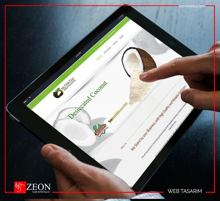 Zeon Medya | Nutratek Gıda Web Tasarım
