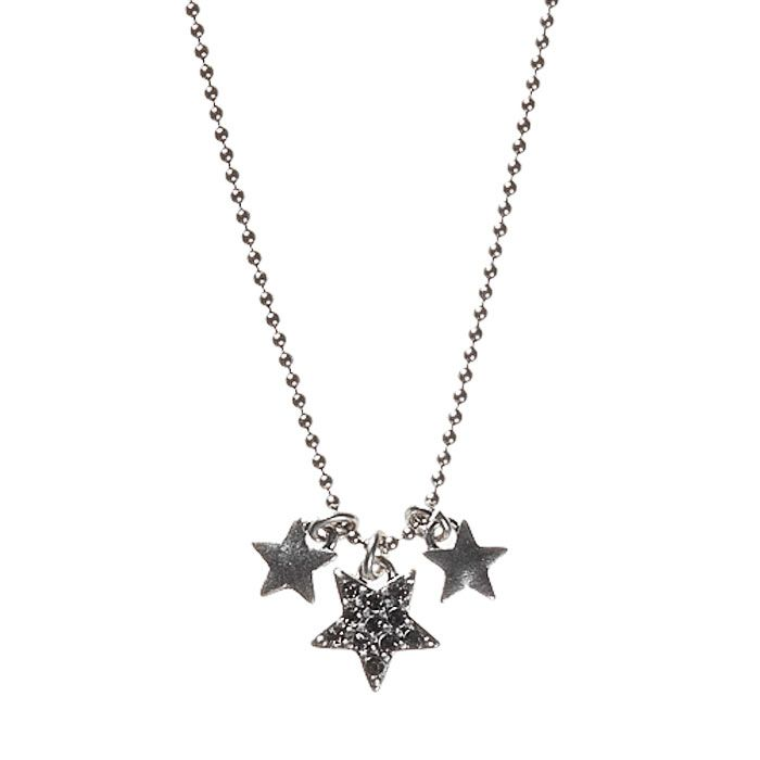 Hultquist Stars Silver Plated Swarovski Crystal Necklace £26.95 http://www.lizzielane.com/product/hultquist-stars-silver-plated-swarovski-crystal-necklace/