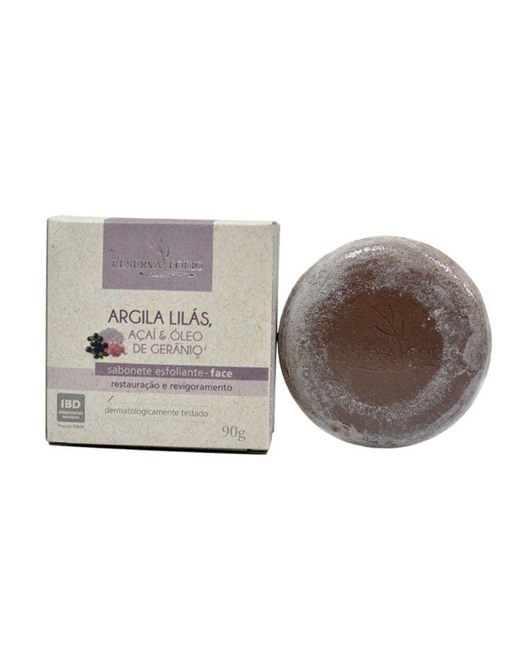 O SABONETE ESFOLIANTE DE ARGILA LILÁS, AÇAÍ E ÓLEO DE GERÂNIO limpa profundamente a pele, tornando-a com maior vitalidade, tonicidade e suavizando sinais. Pode ser usado diariamente. Indicado para pele envelhecida ou com manchas superficiais. http://www.revendaamaterra.com.br/loja/espaco-ngmarketplace