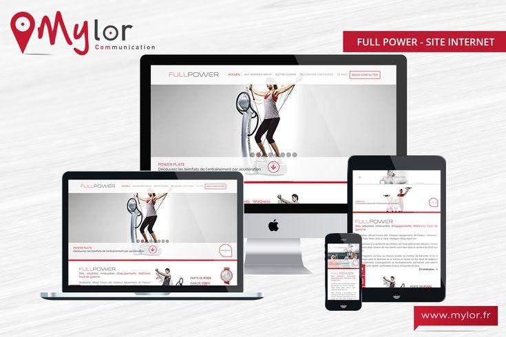 Création du site Full Power