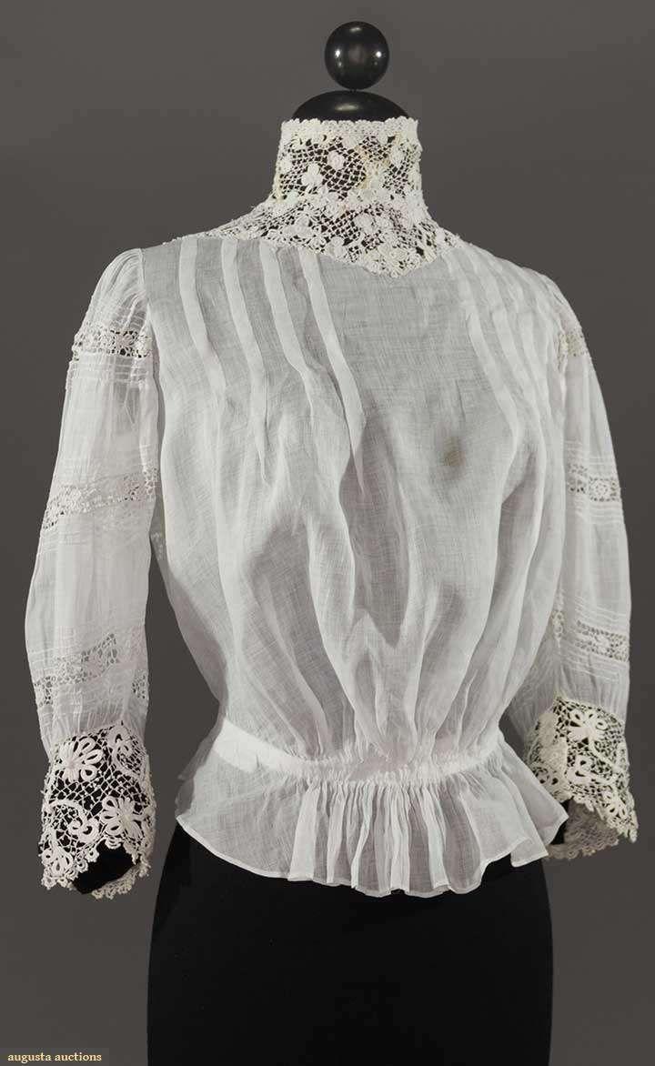 WHITE BLOUSE, 1905-1915