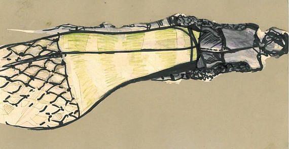 art nouveau...made to order fashion illustrationart giftgift