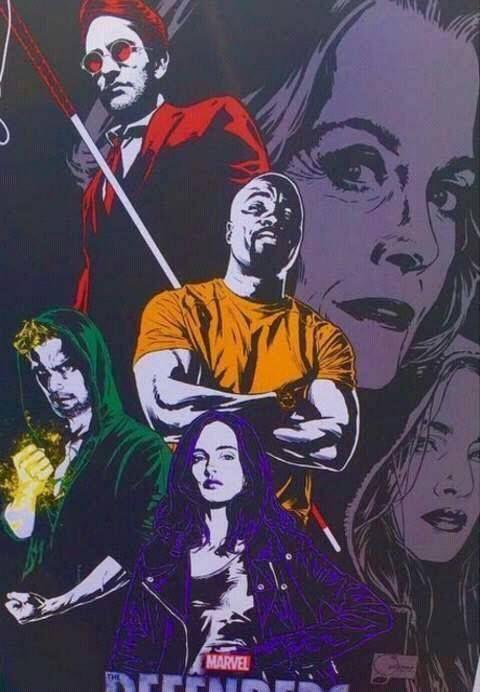 Defensores: novo pôster e logotipo alterado ~ Universo Marvel 616