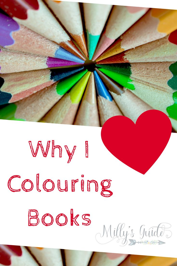 Why I love colouring books. They are good for my mental health and a way of looking after my depression and anxiety. MIllys Guide to Happiness.