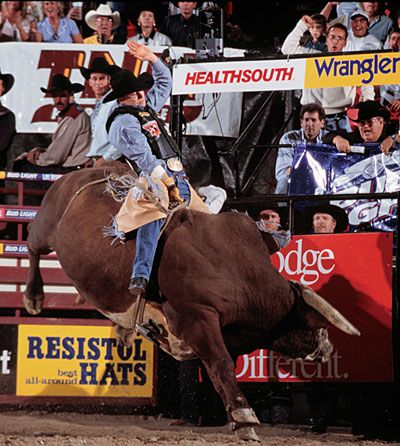 Baskins #randomsocial Trivia: How many years was Ty Murray in professional rodeo?