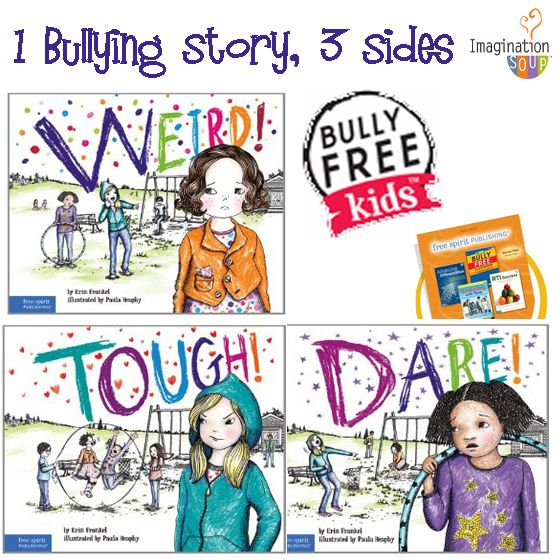 a must read --> The Weird Series: 1 Bullying Story from 3 Perspectives (Picture Books)