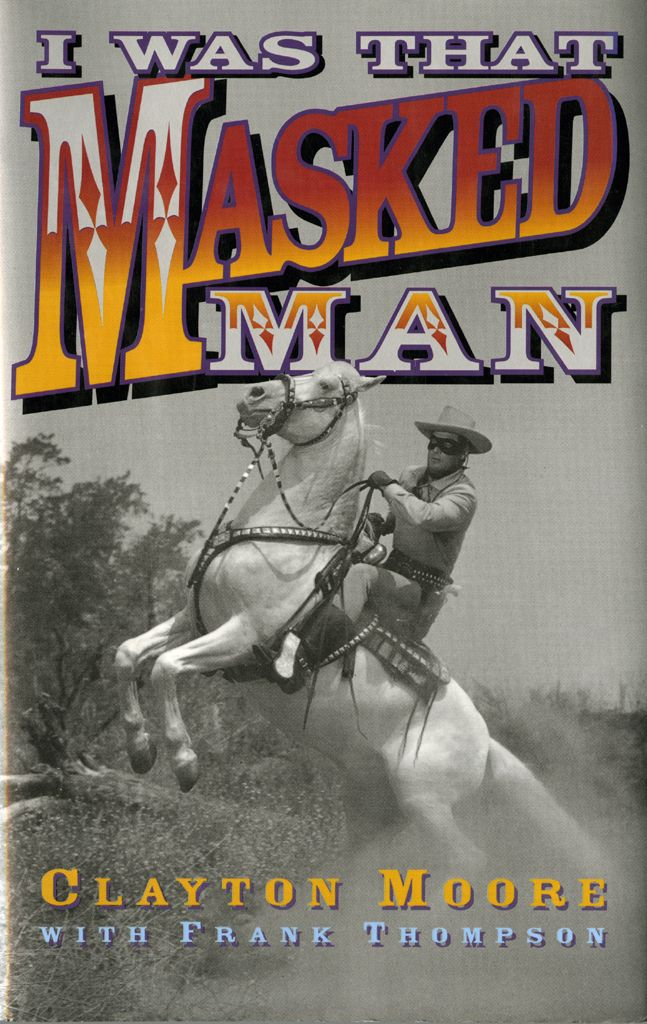 Did you know that the Lone Ranger wrote a book? Actor Clayton Moore, who donated many Lone Ranger objects to our collection, also shared with the public his experiences. #claytonmoore #loneranger