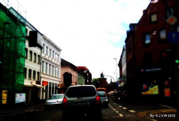 German Street | It was a rainy morning...