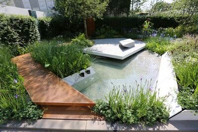 The rbc waterscape garden chelsea flower show 2014 for Waterscape garden designs