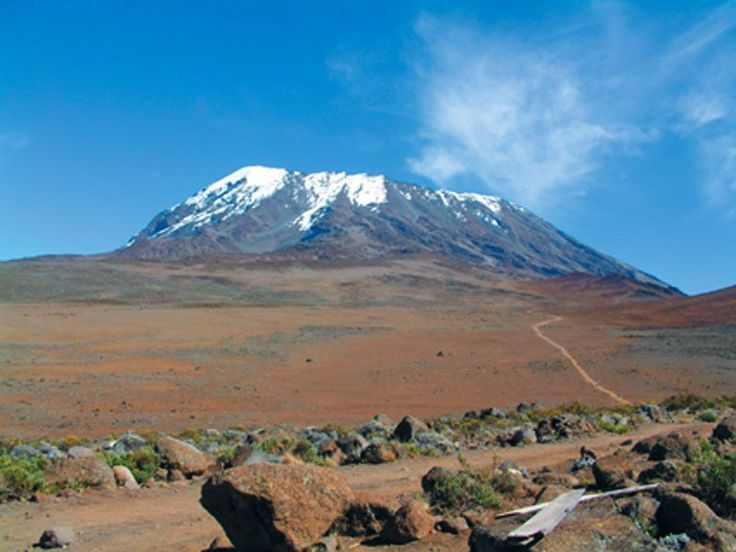 Mount Kili in all of its glory -- Climb the beautiful beast with Acacia Africa -- Overland Travel Specialists -- Hiking