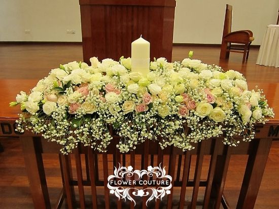 Small Church Wedding Decorations Pictures