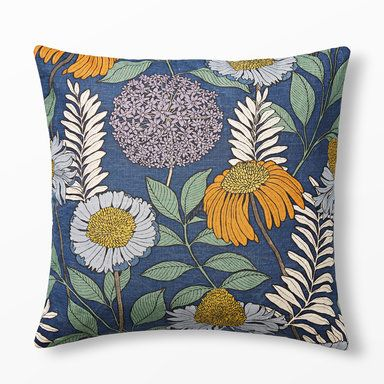 Kudde Joan's Garden design av Abigail Borg, 50x50 cm, flerfärgad