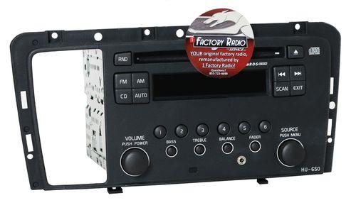 Reman & Aux Mod SERVICE for 05-09 Volvo 60 70 80 Series Radio AM FM CD - HU-650