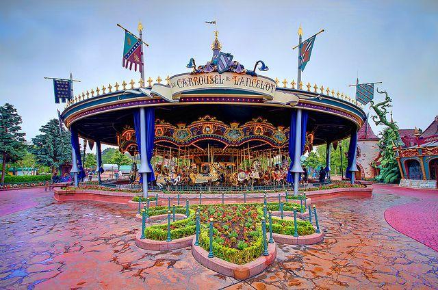 Le Carrousel de Lancelot - Disneyland Paris